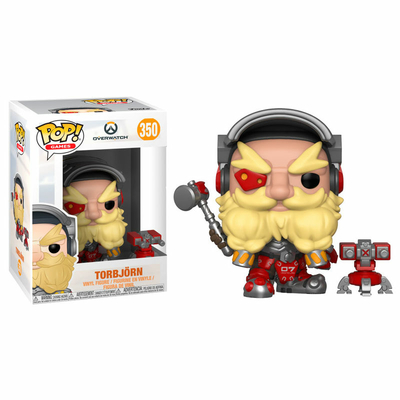 Figurine Overwatch Funko POP! Torbjörn 9cm