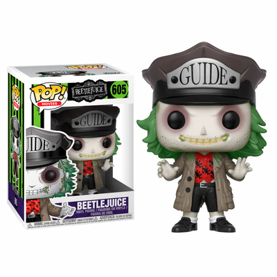 Figurine Beetlejuice Funko POP! Beetlejuice Guide Hat 9cm