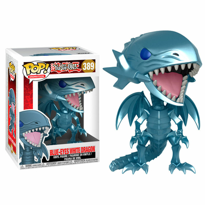 Figurine Yu-Gi-Oh! Funko POP! Blue Eyes White Dragon 9cm