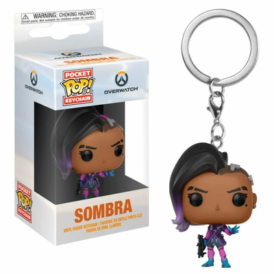 Porte-clés Overwatch Pocket POP! Sombra 4cm