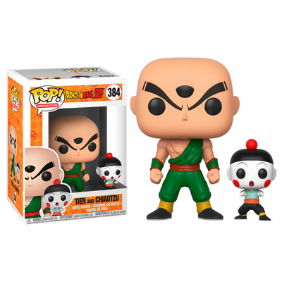 Figurine Dragon Ball Z Funko POP! Tien Shinhan & Chiaotzu 9cm