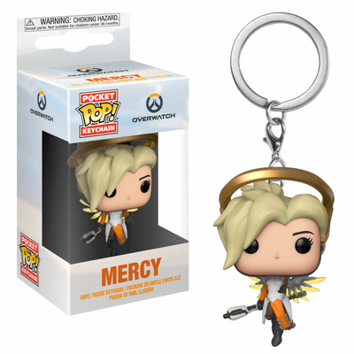 Porte-clés Overwatch Pocket POP! Mercy 4cm