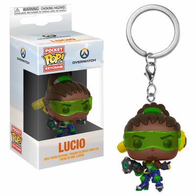 Porte-clés Overwatch Pocket POP! Lucio 4cm