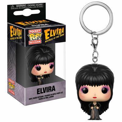 Porte-clés Elvira maîtresse des ténèbres Pocket POP! Elvira 4cm