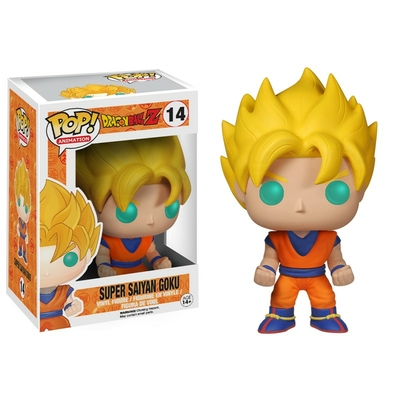 Figurine Dragon Ball Z Super Saiyan Goku POP! Funko