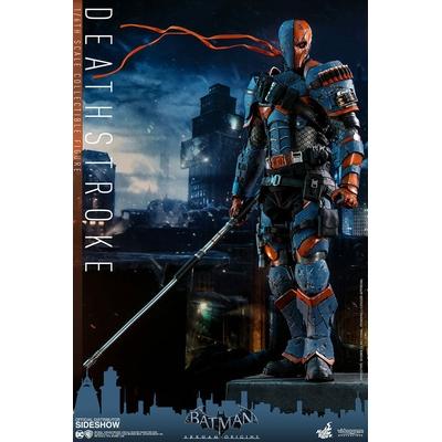 Figurine Batman Arkham Origins Videogame Masterpiece Deathstroke 32cm