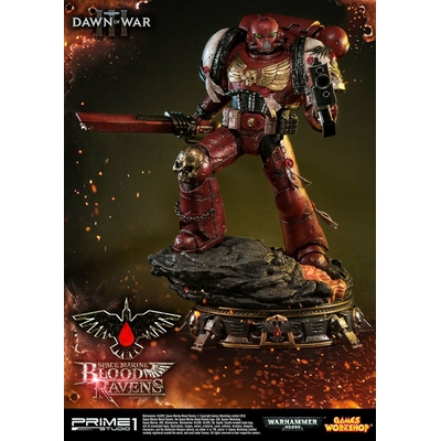 Statue Warhammer 40K Dawn of War III Space Marine Blood Ravens 72cm