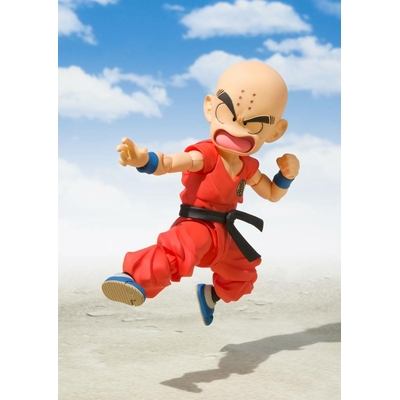 Figurine Dragon Ball S.H. Figuarts Krillin The Early Years 10cm