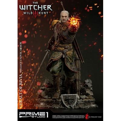 Statue Witcher 3 Wild Hunt Geralt of Rivia Skellige Undvik Armor 58cm