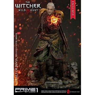 Statue Witcher 3 Wild Hunt Geralt of Rivia Skellige Undvik Armor Exclusive 58cm