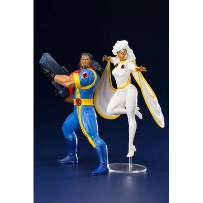 Pack 2 statuettes Marvel Universe ARTFX+ Bishop & Storm (X-Men '92) 20cm