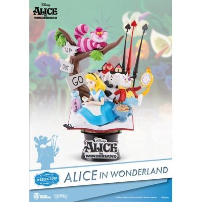 Diorama Disney Alice au pays des merveilles D-Select 15cm