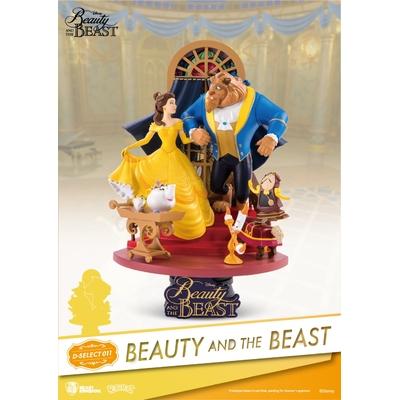 Diorama Disney La Belle et la Bête D-Select 15cm