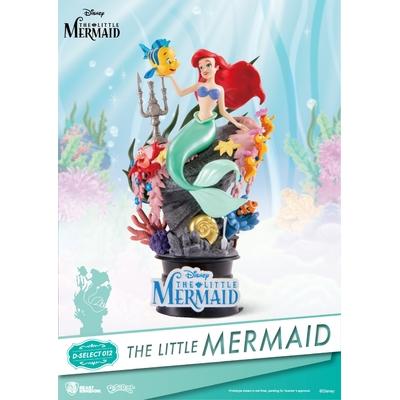 Diorama Disney La Petite Sirène D-Select 15cm