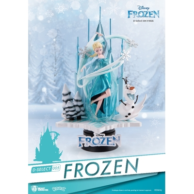 Diorama Disney La Reine des neiges D-Select 18cm