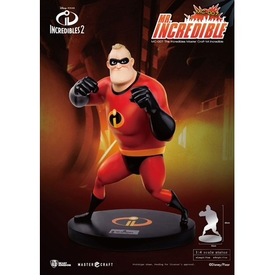 Statuette Les Indestructibles 2 Master Craft Mr. Incredible 45cm