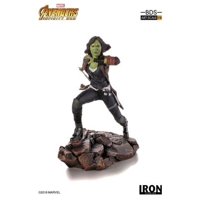 Statuette Avengers Infinity War Art Scale Gamora 18cm