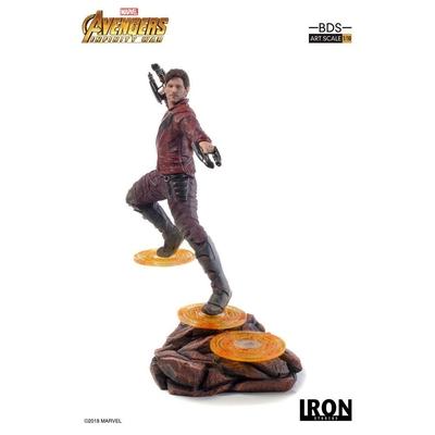 Statuette Avengers Infinity War Art Scale Star-Lord 23cm