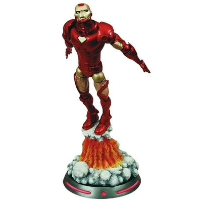 Statuette Marvel Select Iron Man 18cm