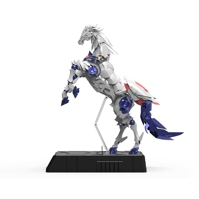 Figurine Steel Jeeg lumineuse Panzeroid DH Goukin 40cm