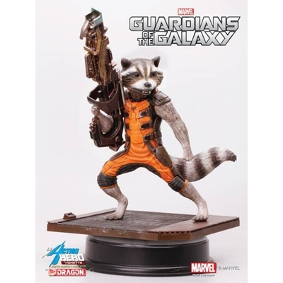 Statuette Les Gardiens de la Galaxie Rocket Raccoon 18 cm