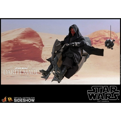Figurine Star Wars Episode I DX Series Darth Maul & Sith Speeder 29cm