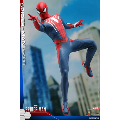 Figurine Marvel's Spider-Man Videogame Masterpiece Spider-Man Advanced Suit 30cm