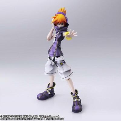 Figurine The World Ends with You Final Remix Bring Arts Neku Sakuraba 13cm