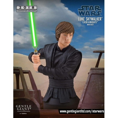 Buste Star Wars Luke Skywalker Jedi Knight SDCC 2018 Exclusive 16cm