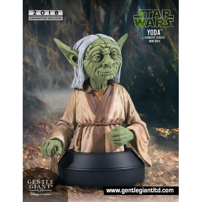 Buste Star Wars Yoda Concept Series SDCC 2018 Exclusive 16cm