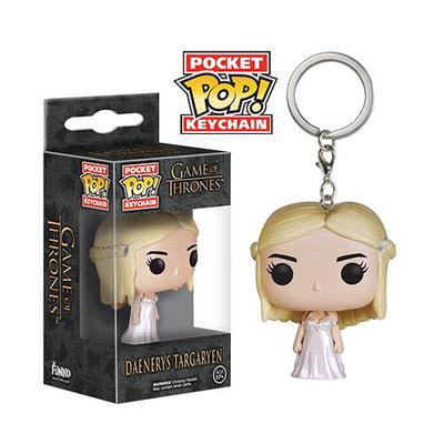 Porte-clés Le Trône de fer POP! Daenerys Targaryen 4 cm