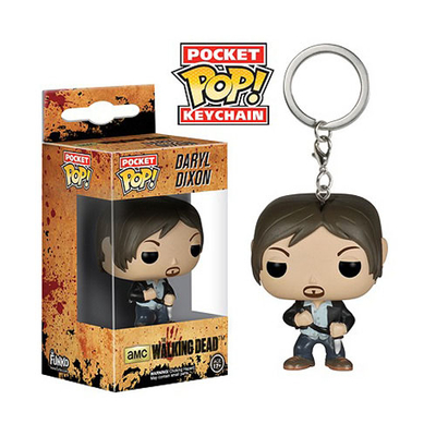 Porte-clés The Walking Dead POP! Daryl Dixon 4 cm
