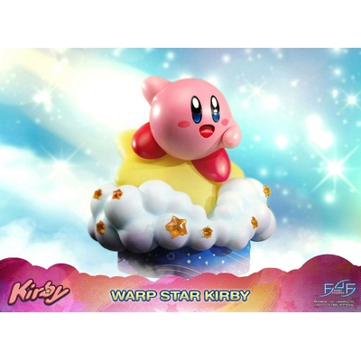 Statue Kirby Warp Star Kirby 30cm