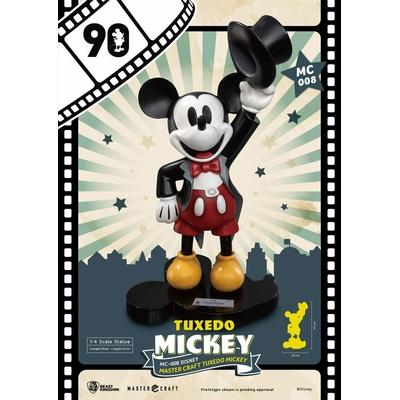 Statuette Mickey Mouse Master Craft Tuxedo Mickey 90th Anniversary 47cm