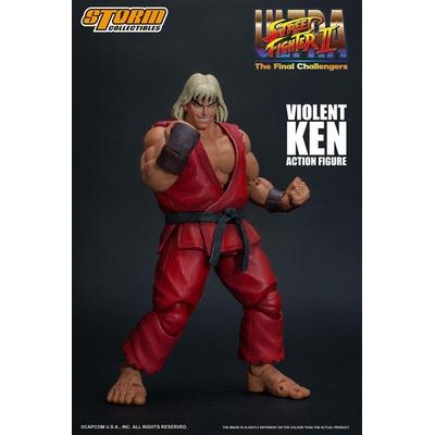 Figurine Ultra Street Fighter II The Final Challengers Violent Ken 15cm