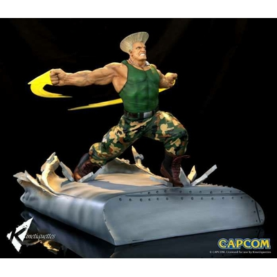 Diorama Street Fighter War Heroes Guile 42cm
