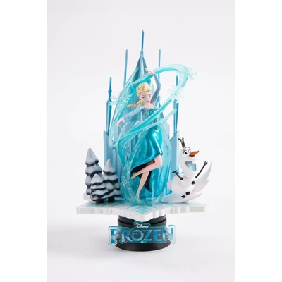 Diorama La Reine des neiges D-Select Exclusive 18cm
