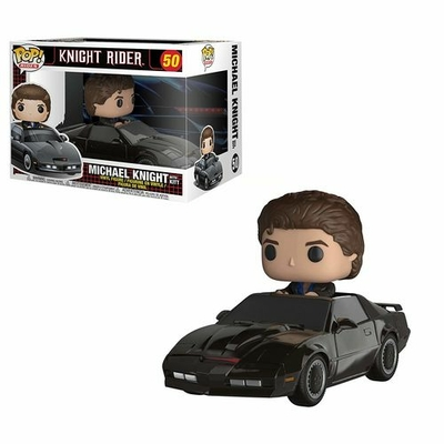 Figurine Knight Rider Funko POP! Rides KITT & Michael Knight 15cm
