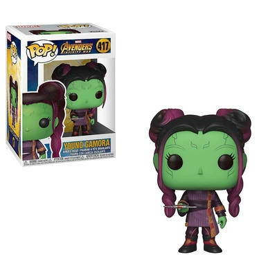 Figurine Avengers Infinity War Funko POP! Young Gamora with Dagger 9cm