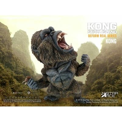 Statuette Kong Skull Island Deform Real Series Soft Vinyl Kong 15cm