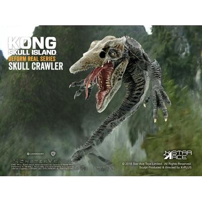 Statuette Kong Skull Island Deform Real Series Soft Vinyl Skull Crawler 16cm