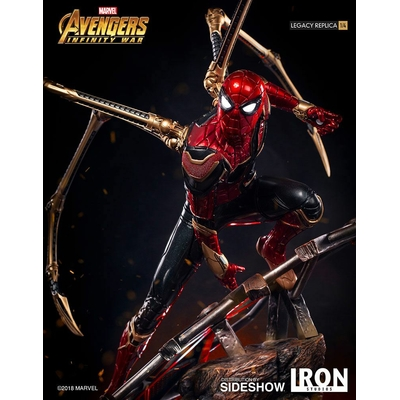 Statuette Avengers Infinity War Legacy Replica Iron Spider-Man 64cm