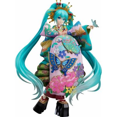 Statuette Character Vocal Series 01 Hatsune Miku Chokabuki Kuruwa Kotoba Awase Kagami Ver. 30cm