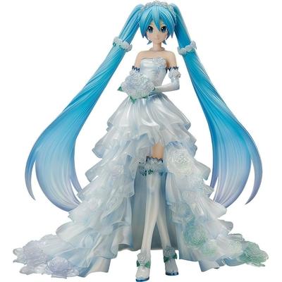 Statuette Character Vocal Series 01 Hatsune Miku Wedding Dress Ver. 25cm