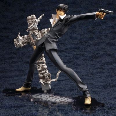 Statuette Trigun Badlands Rumble ARTFX J Nicholas D. Wolfwood Renewal Package Version 20cm