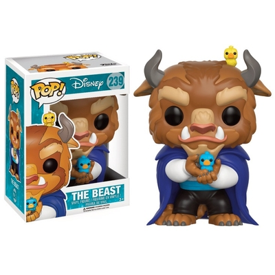 Figurine La Belle et la Bête Funko POP! Disney The Beast 9cm