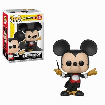 Figurine Mickey Maus 90th Anniversary Funko POP! Disney Conductor Mickey 9cm