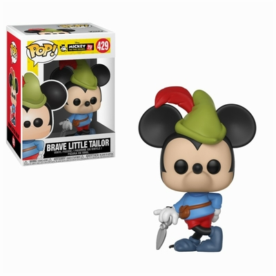 Figurine Mickey Maus 90th Anniversary Funko POP! Disney Brave Little Tailor Mickey 9cm