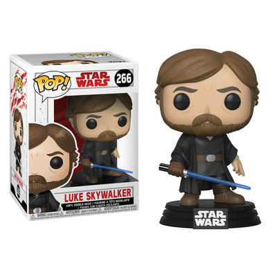 Figurine Star Wars Episode VIII Funko POP! Luke Skywalker Final Battle 9cm