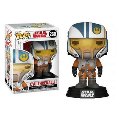 Figurine Star Wars Episode VIII Funko POP! C'ai Threnalli 9cm